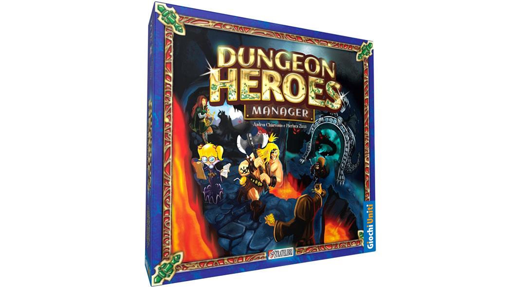 Questo gioco da tavolo ci trasforma in impresari di eroi - Dungeon gioco da tavolo ...
