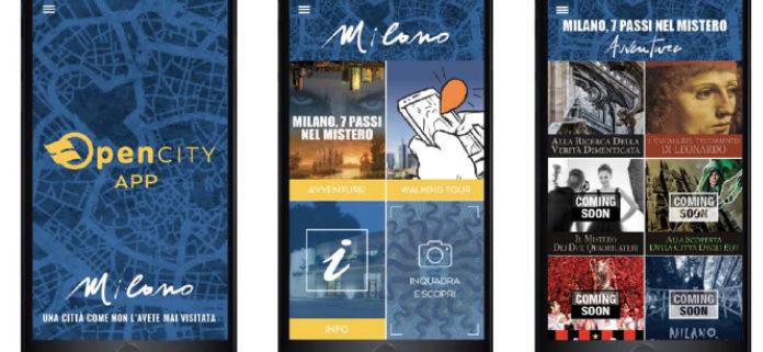 Risultati immagini per OPEN CITY CARD Milan e OPEN CITY APP Milan